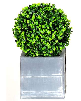 Marisota Artificial Topiary Single Ball Planter