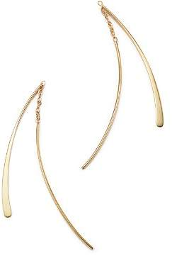 Bloomingdale's 14K Yellow Gold Small Double Wire Dangle Earrings - 100% Exclusive