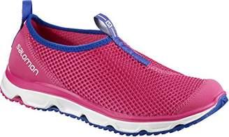 Salomon Women's Rx Moc 3.0 Trail Running Shoes, Pink Yarrow/White/Surf The Web, 39 1/3 EU