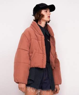 REDYAZEL (レディアゼル) - レディアゼル レトロカラー中綿ショートジャケット
