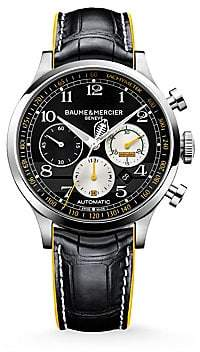Baume & Mercier Baume& Mercier Baume& Mercier Women's Capeland Shelby® Cobra 10282 Limited Edition Stainless Steel& Alligator Strap Watch