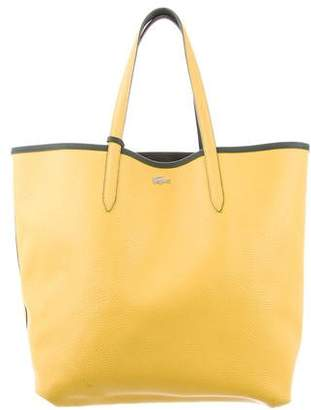 Lacoste Reversable Leather Tote