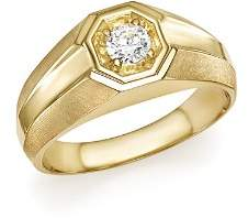 Bloomingdale's Diamond Men's Ring in 14K Yellow Gold, .25 ct. t.w. - 100% Exclusive