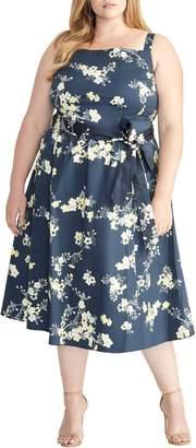 Rachel Roy Floral Fit & Flare Sundress