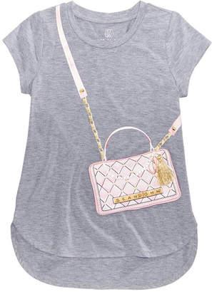 Sean John Faux Quilted Bag T-shirt, Big Girls