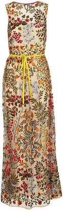 RED Valentino Floral Maxi Dress