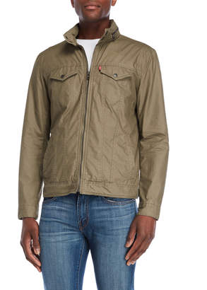 Levi's Hooded Pocket Trucker Jacket