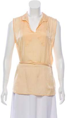 Marc Jacobs Silk Sleeveless Top Silk Sleeveless Top