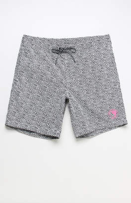 "T&C Surf Designs Static All Over 18"" Boardshorts"