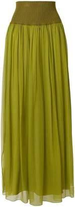 Alberta Ferretti full maxi skirt