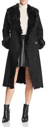 Maximilian Furs Shearling Coat with Toscana Shearling Shawl Collar - 100% Exclusive