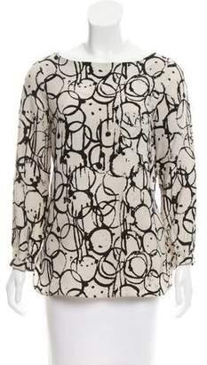 Kelly Wearstler Printed Long Sleeve Top