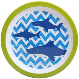 Mainstays Boys Shark Melamine Dinner Plate Set, 6-Pack