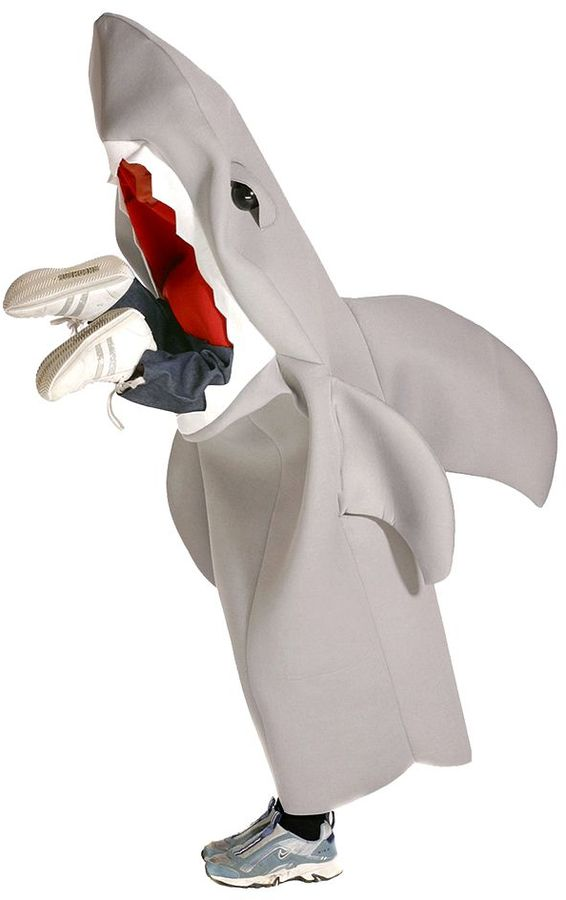 Lil' Man Eating Shark Costume - Kids