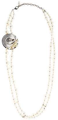 Chanel Faux Pearl & Crystal Supermarket Soda Can Necklace