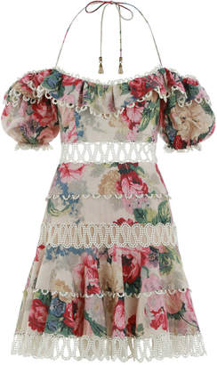 Zimmermann Melody Off Shoulder Dress