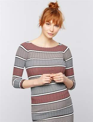 A Pea in the Pod Rib Knit Maternity Sweater