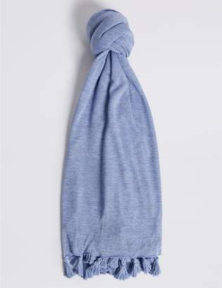 Marks and Spencer Tassel Knit Scarf