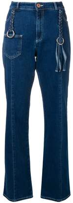 See by Chloe braided detail jeans