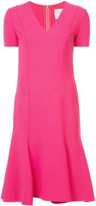 Carolina Herrera short sleeve dress
