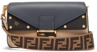 74de1da09adb Fendi Baguette Tri Colour Leather Bag - Womens - Blue Multi