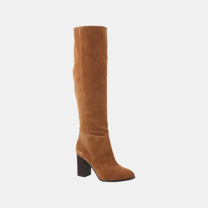 Silas Suede Knee-High Boot