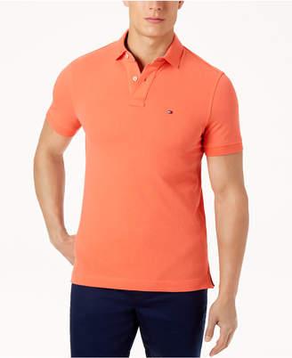 a02fb09e Tommy Hilfiger Orange Men's Polos - ShopStyle