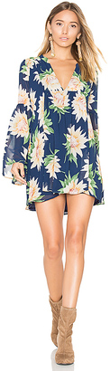 Show Me Your Mumu Mia Tunic in Navy $150 thestylecure.com