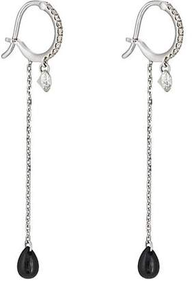 "Raphaele Canot Women's ""Set Free"" Mixed-Gemstone Earrings - Black"
