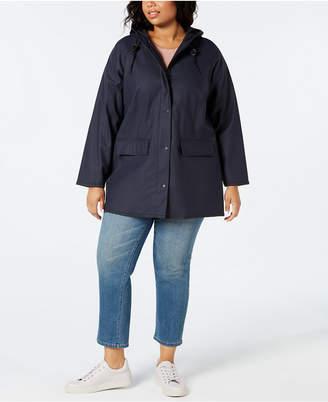 Levi's Plus Size Hooded Rain Jacket