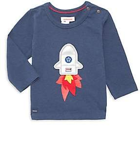 Catimini Baby's & Little Boy's Rocket Ship Tee