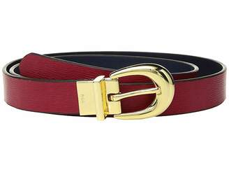 Lauren Ralph Lauren 1 Saffiano to Smooth Reversible Belt