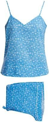 Derek Rose Ledbury 8 tropical-print pyjama set
