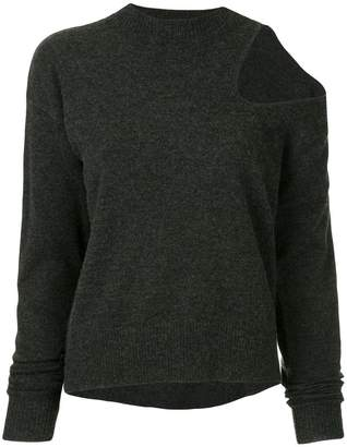 CHRISTOPHER ESBER shoulder cut-out jumper