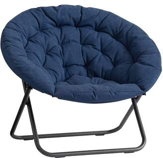 Pottery Barn Teen Indigo Enzyme-Washed Canvas Hang-A-Round Chair
