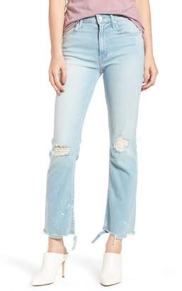 Mother The Dutchie Ripped Ankle Jeans