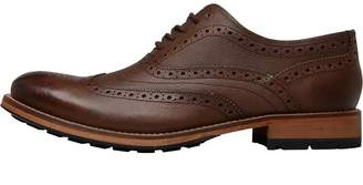 Ted Baker Mens Guri 8 Leather Brogues Brown