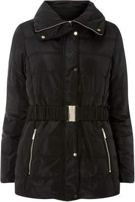 Dorothy Perkins Womens Black Short Luxe Padded Coat