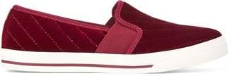 Ralph Lauren Jinny Velvet Slip-On Sneaker