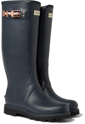 Hunter Kingsman + Balmoral Rubber Wellington Boots