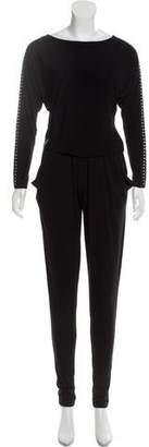 MICHAEL Michael Kors Stud-Embellished Skinny Jumpsuit w/ Tags