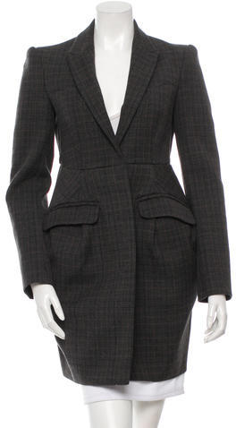 Miu Miu Miu Miu Structured Wool Coat