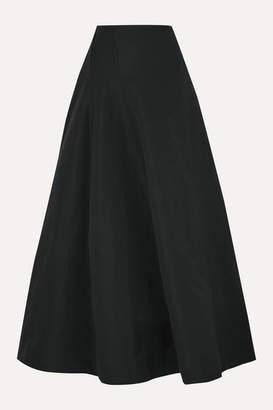 BITE Studios - Organic Linen And Cotton-blend Maxi Skirt - Black