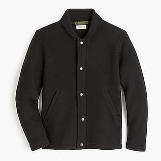 J.Crew Wallace & Barnes felted merino wool deck jacket