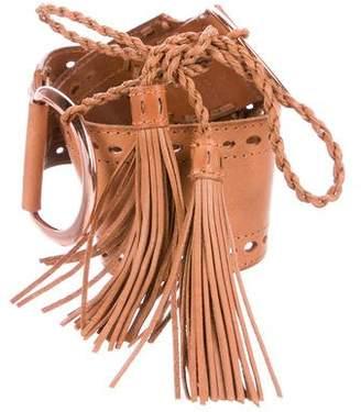 Linea Pelle Leather Tie Closures