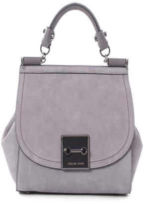 6e9c3f06b512 Celine Dion Collection Suede Baroque Handle Bag