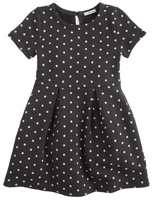 J.Crew Girls' pleated dress in polka dot