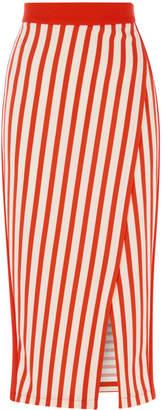 Karen Millen Stripe Jersey Pencil Skirt