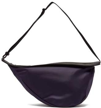 The Row Slouchy Banana Shoulder Bag - Womens - Navy