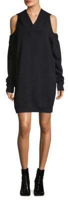 Faith Connexion Hooded Sweatshirt Dress